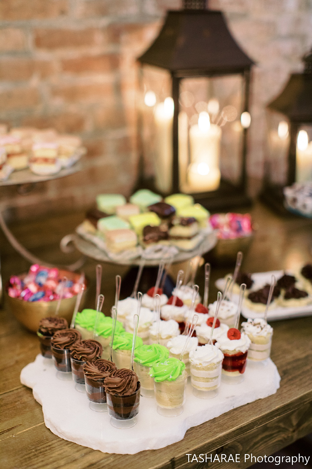 Gambino's Bakery Dessert Bar. Photo by Tasha Rae Photography