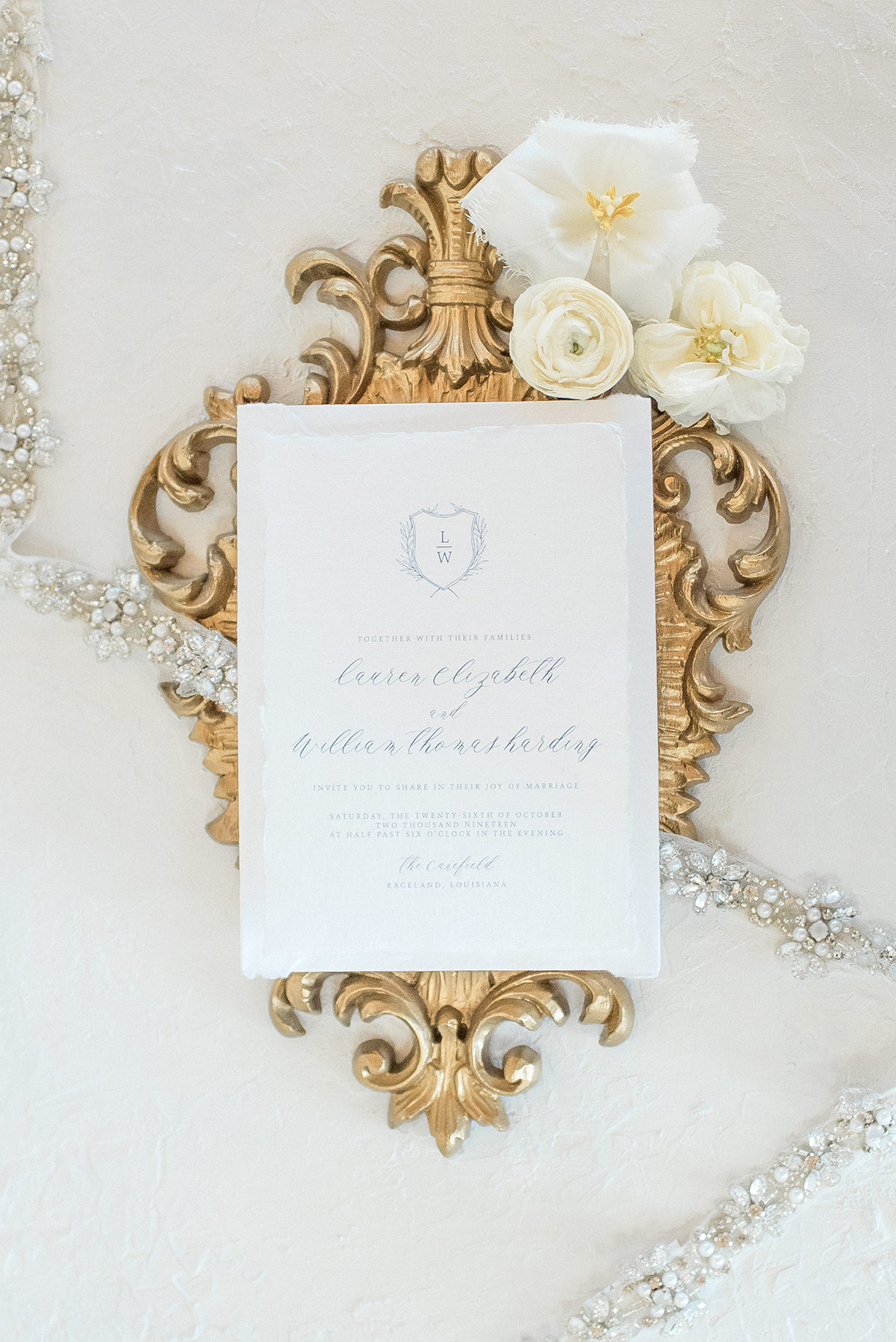 Wedding Invitation by InvitoBella, LLC | Photo by The Crawfords Photography