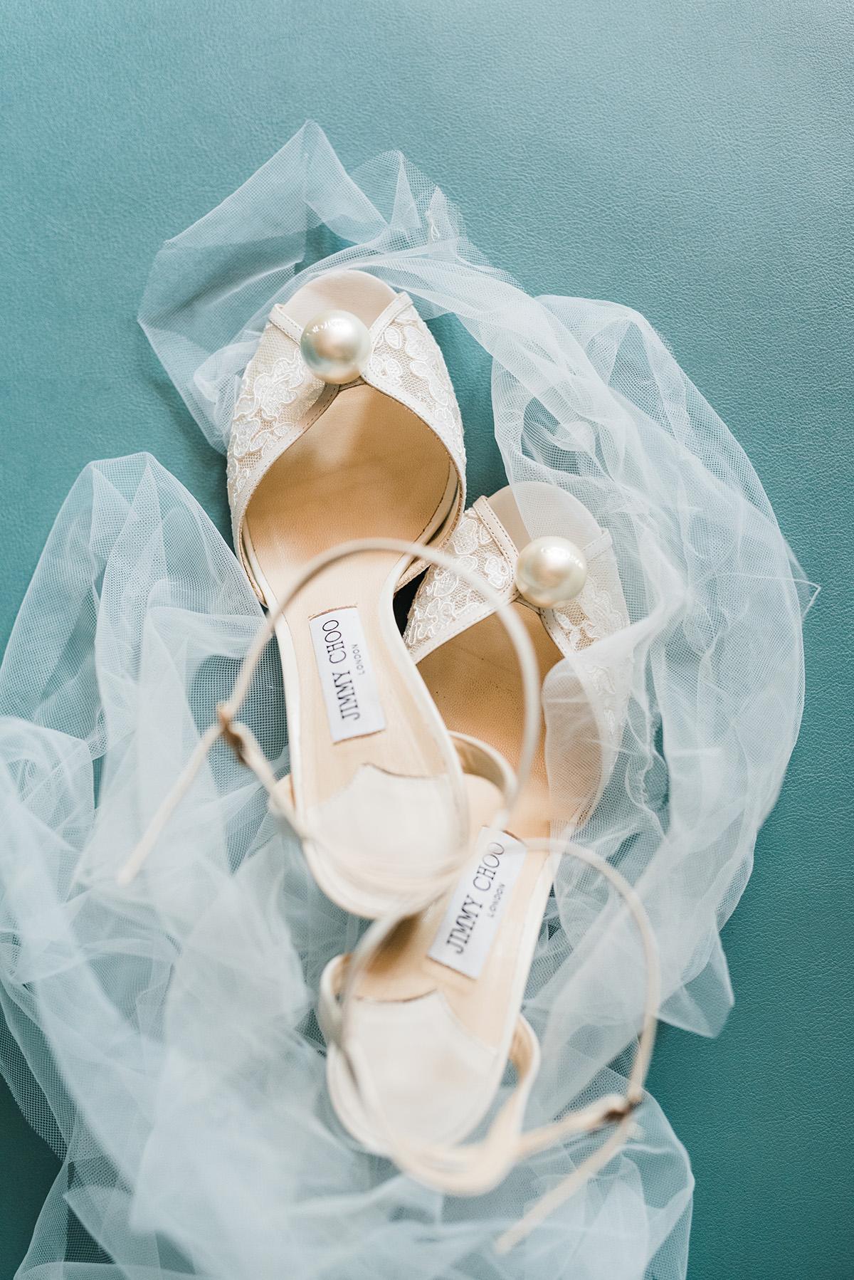 Jimmy Choo Wedding Shoes. Gabby Chapin Photography