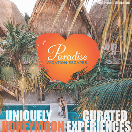 Paradise Vacation Escapes curates one of a kind honeymoon experiences with the couple's needs and expectations at the heart of the journey.