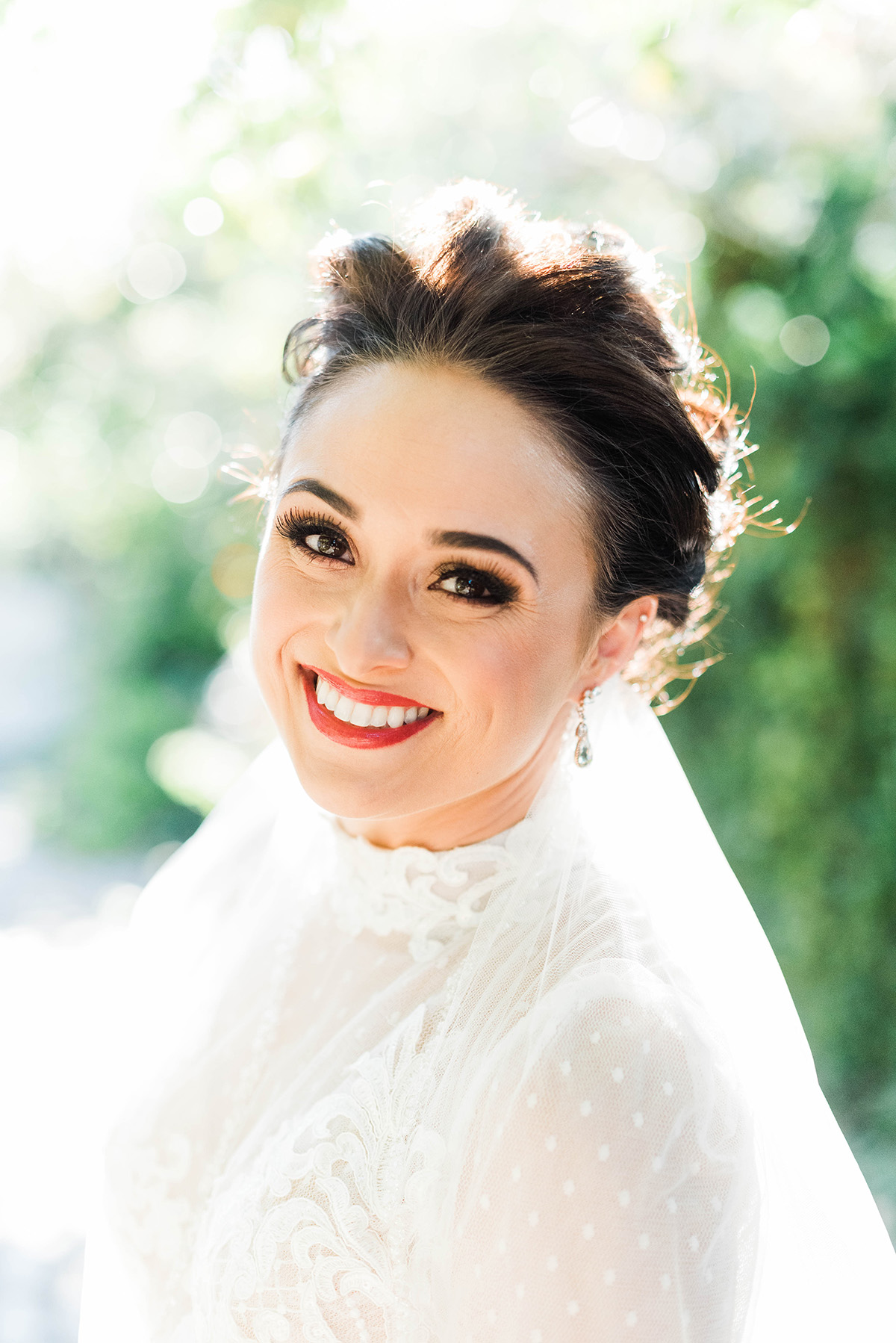 Outdoor bridal portrait. Gabby Chapin Photography
