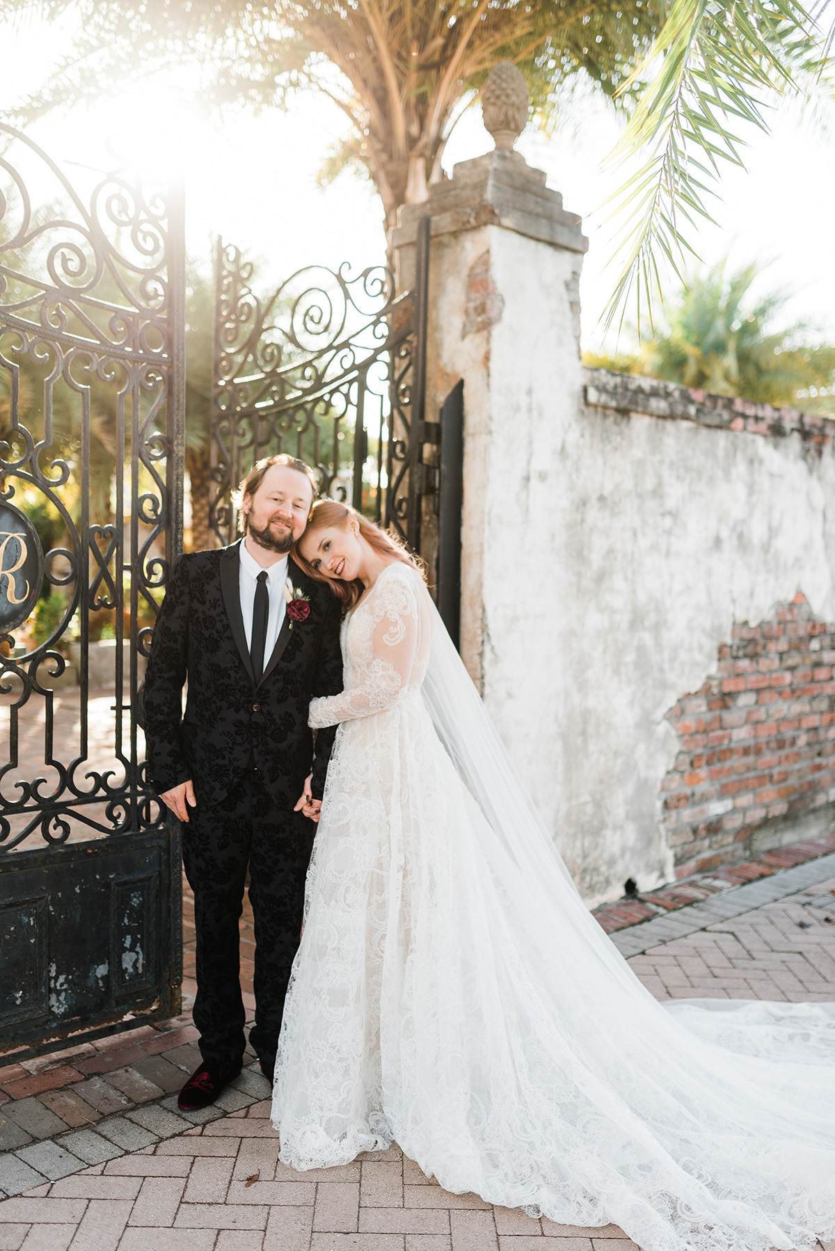 Newlyweds at Race and Religious. Gabby Chapin Photography