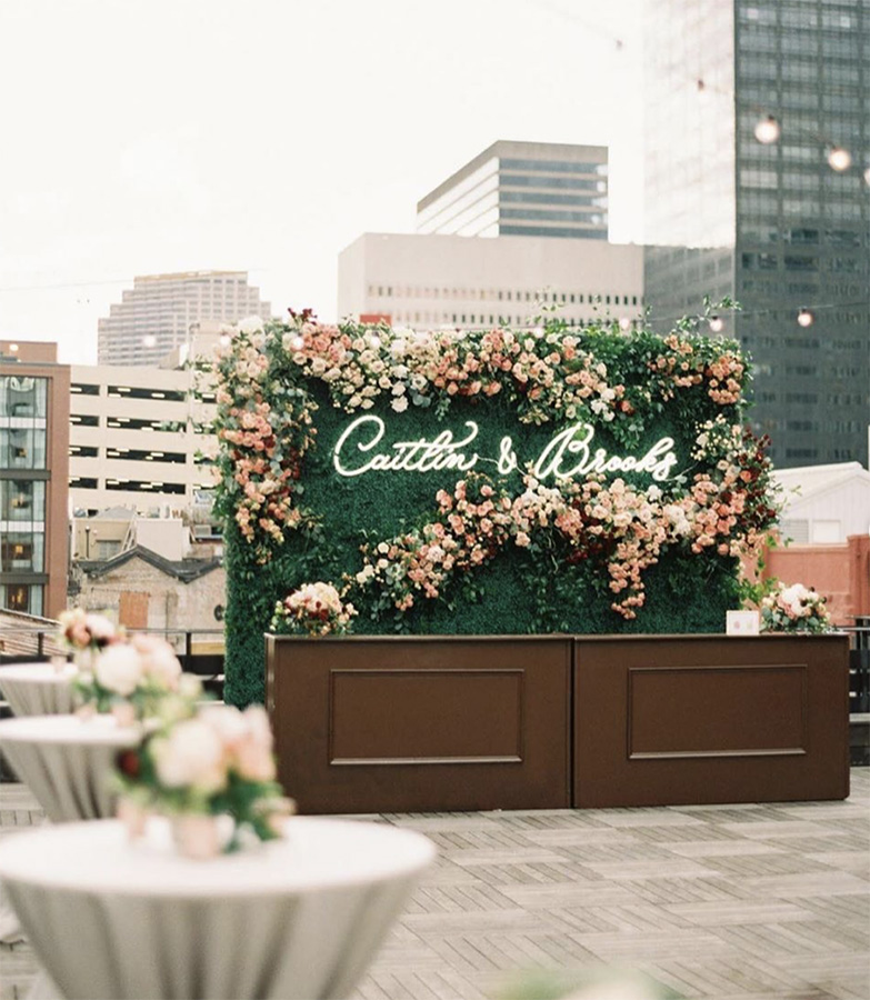 Rooftop bar at The Chicory. Photo: Greer Gattuso