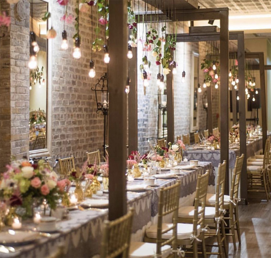 Wedding Reception at The Chicory. Photo: Jacqueline Dallimore
