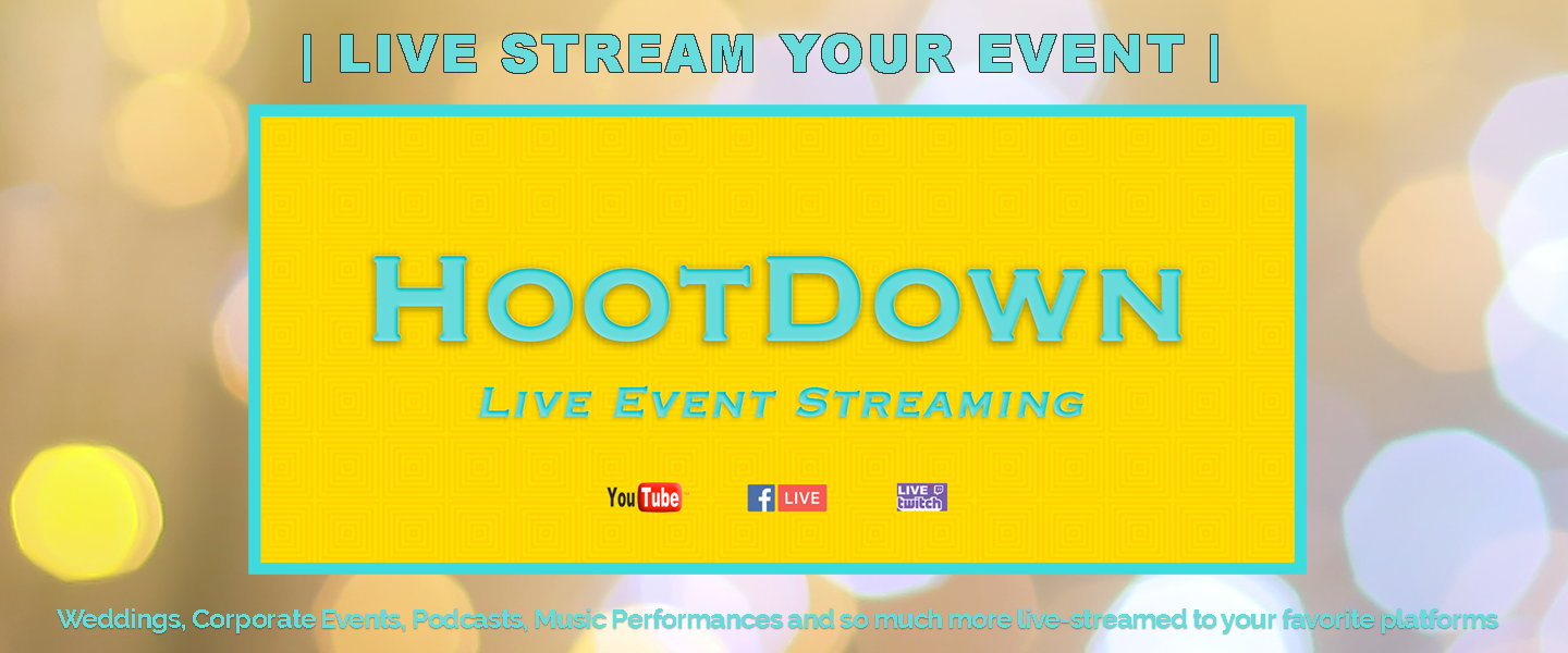 Live Stream Your Event with HootDown