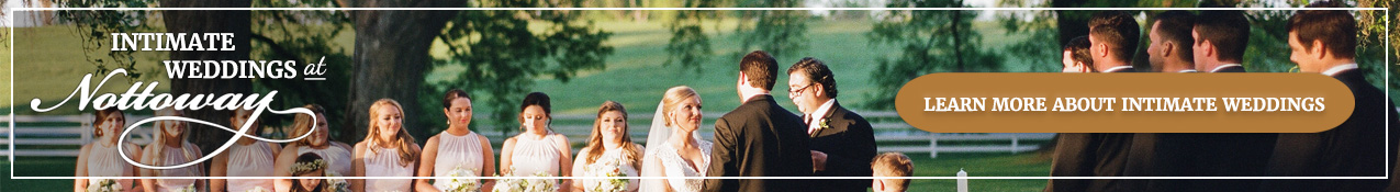 Learn more about intimate weddings at Nottoway.
