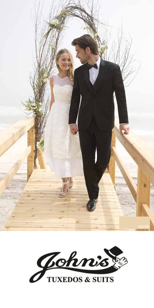 Visit John's Tuxedos for tuxedos and suits in the New Orleans Metro Area.