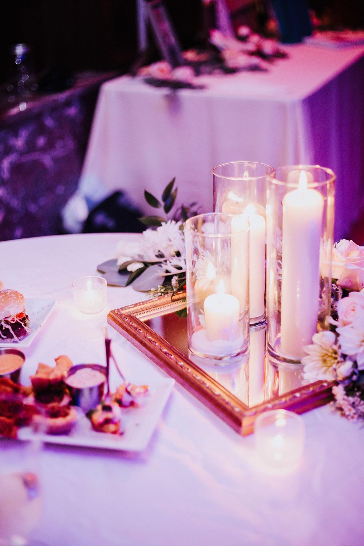 new orleans wedding reception centerpieces