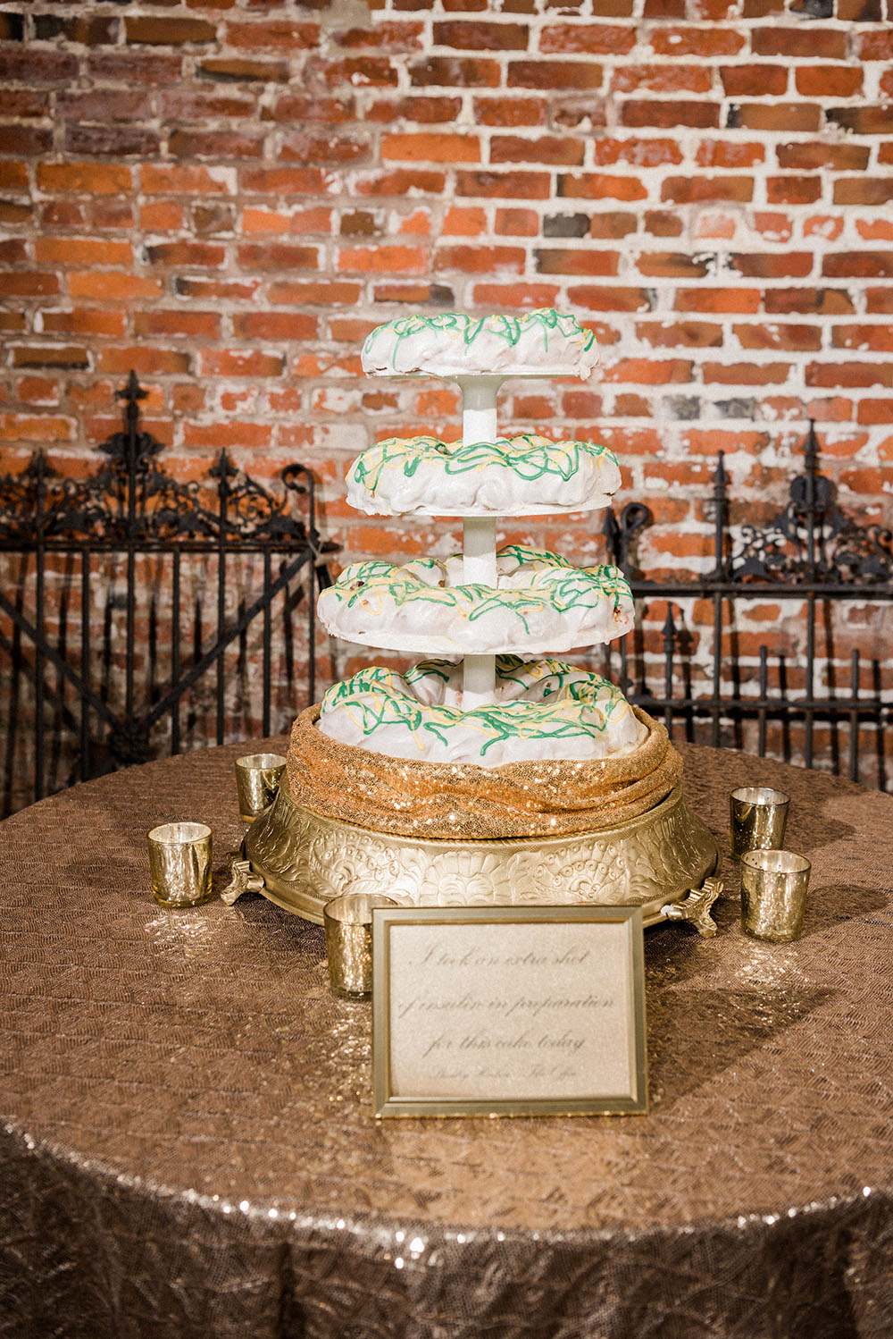 wedding king cake new orleans