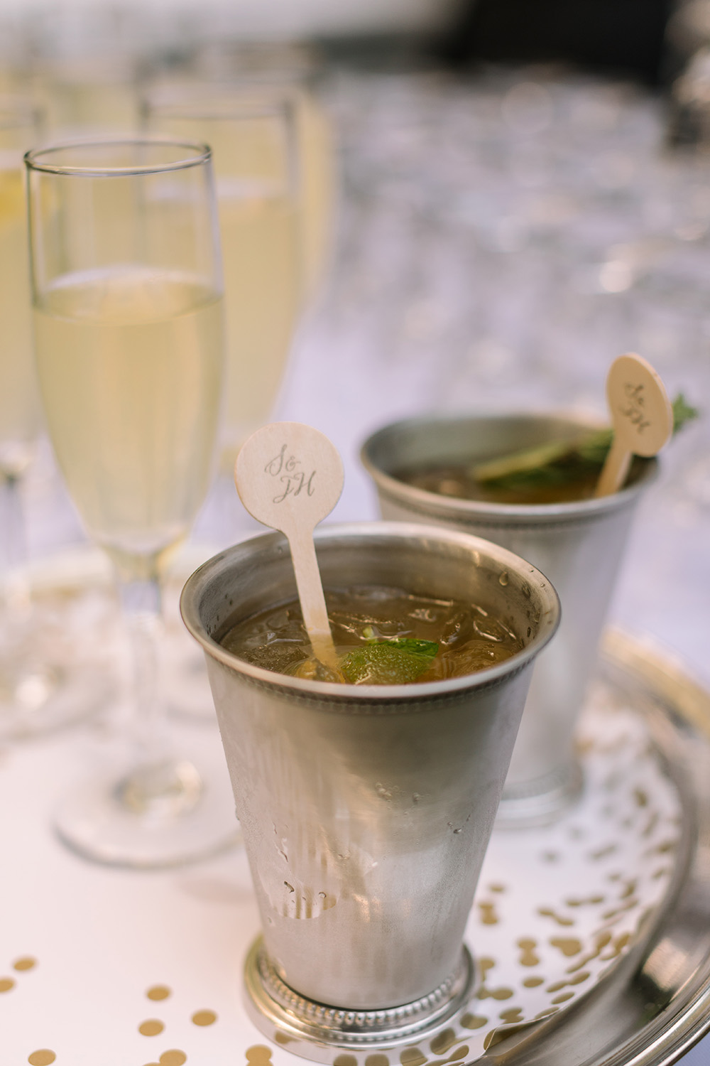 Mint Juleps and Champagne | Photo: Sarah Alleman Photography