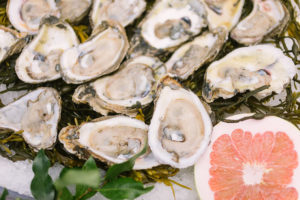 Oysters on the half shell | Photo: Sarah Alleman Photography