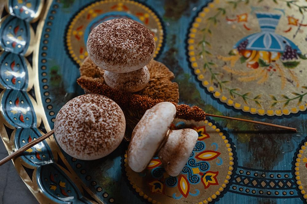 Mushroom Meringues by Lord of Meringes
