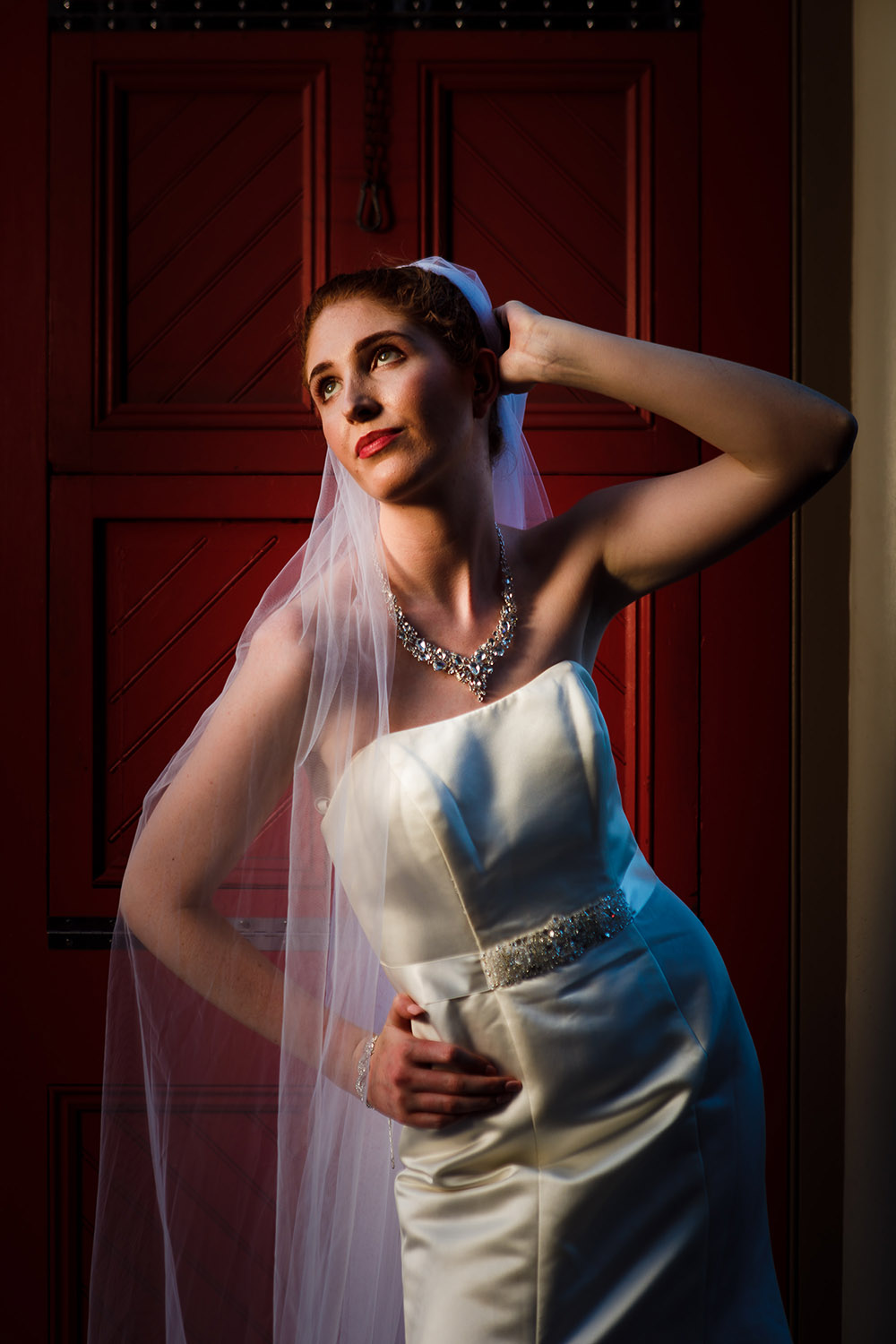 Bridal portrait in the French Quarter