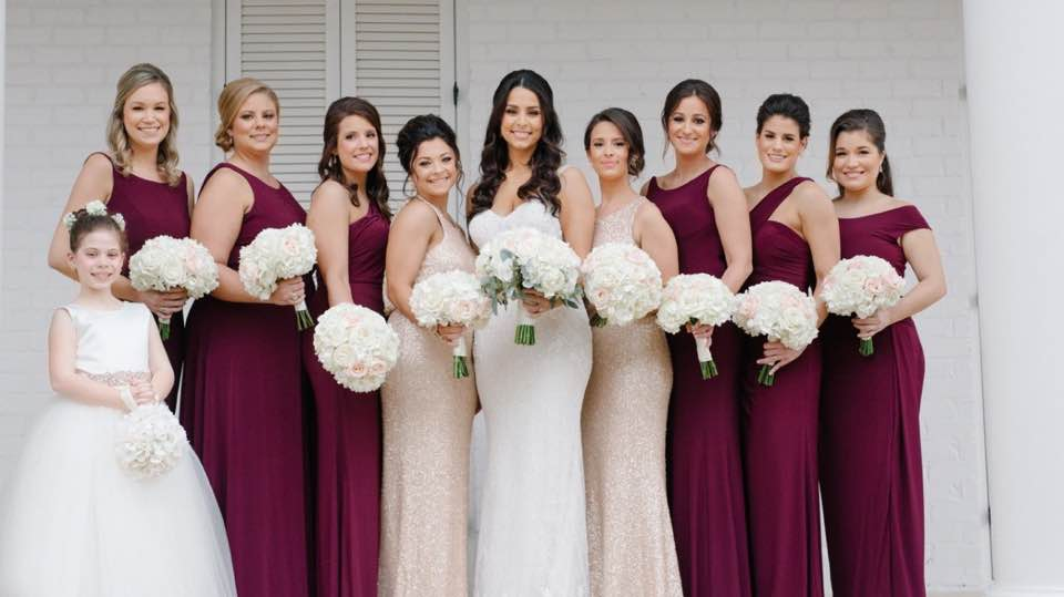 A bride and bridesmaids | Mary M Cinema