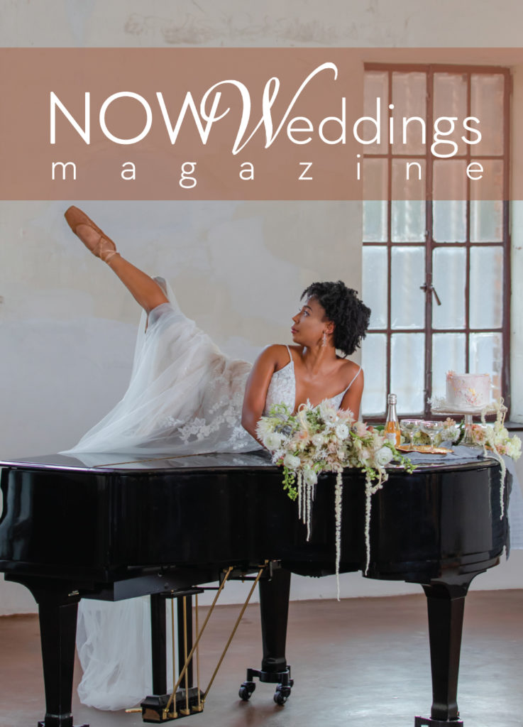 NOW Weddings Magazine Oct 2020 Issue Cover