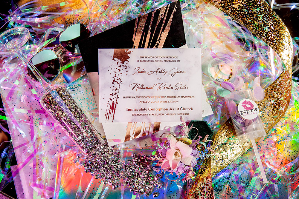 Invitation Suite By Upscales Custom Collection