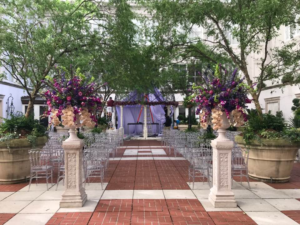 Wedding Ceremony at The Ritz Carlton in New Orleans