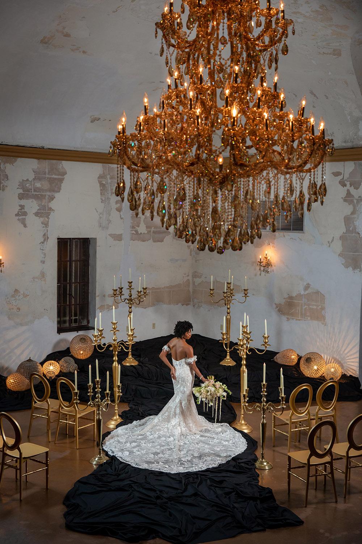 Wedding ceremony scene at Treme Market Branch.