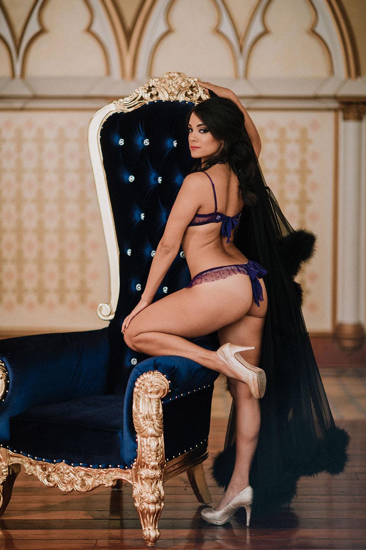 Princess Jasmine Fantasy Boudoir