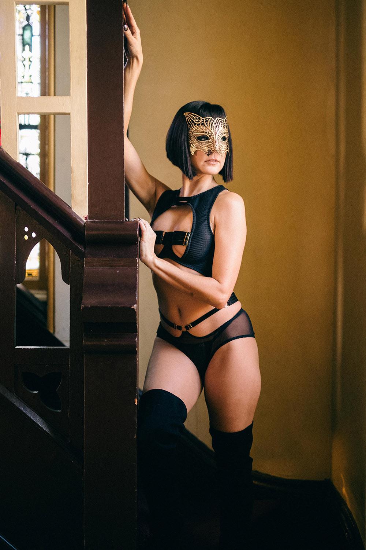 Cat Woman Fantasy Boudoir
