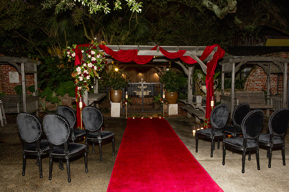 Wedding ceremony at Jazz Quarters in New Orleans