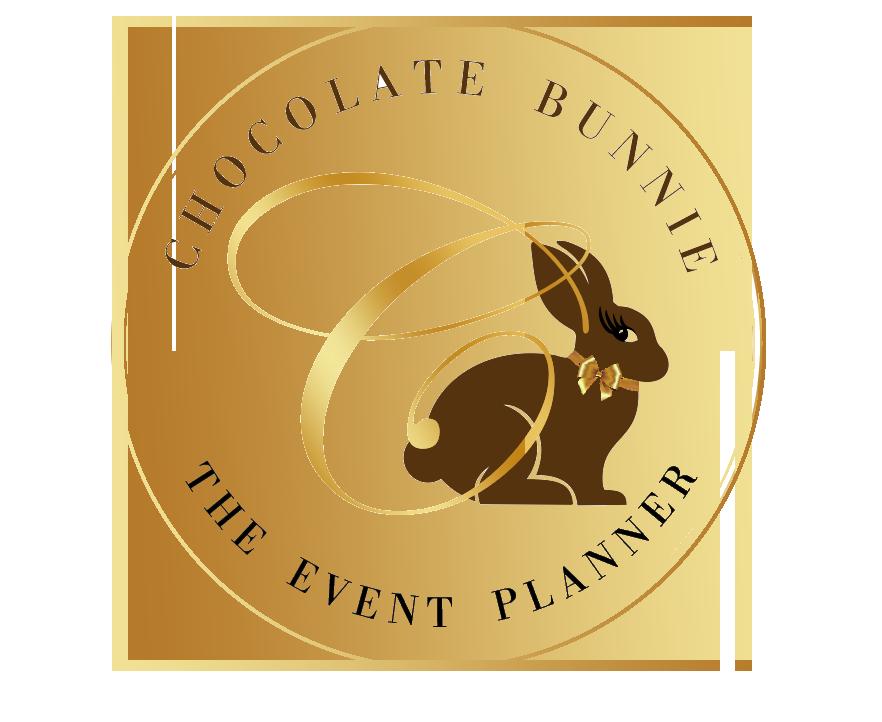 Chocolate Bunnie The Event Planner Logo