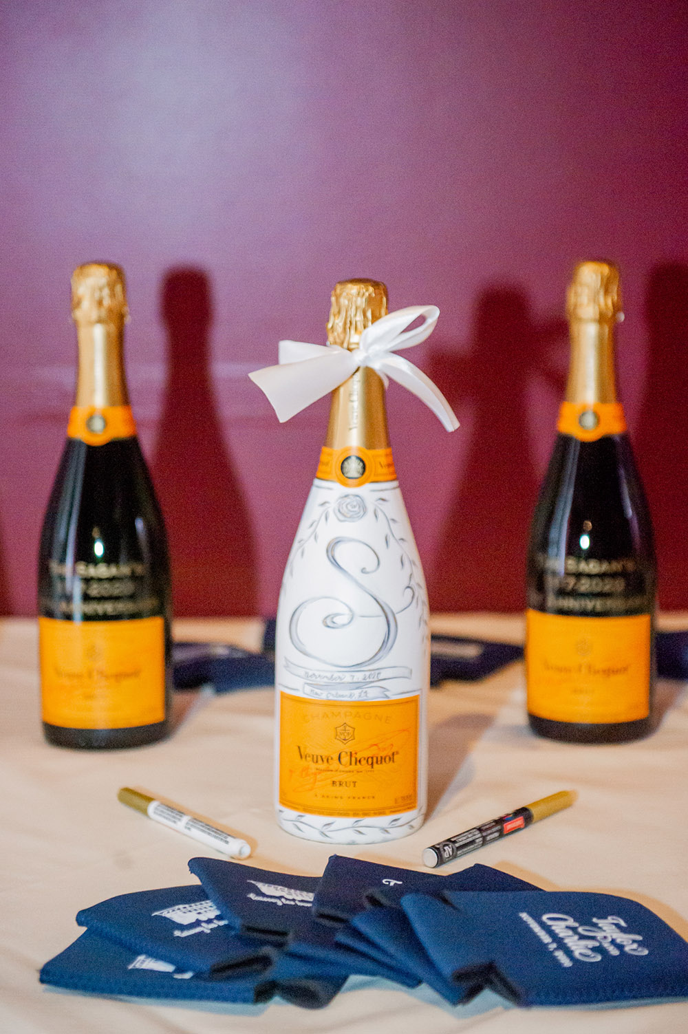 Champagne Bottle Guest Books