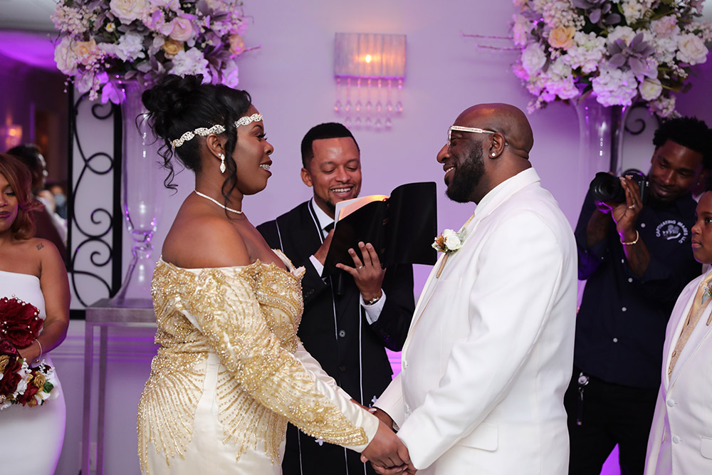 Danesha And Anthony Exchange Vows