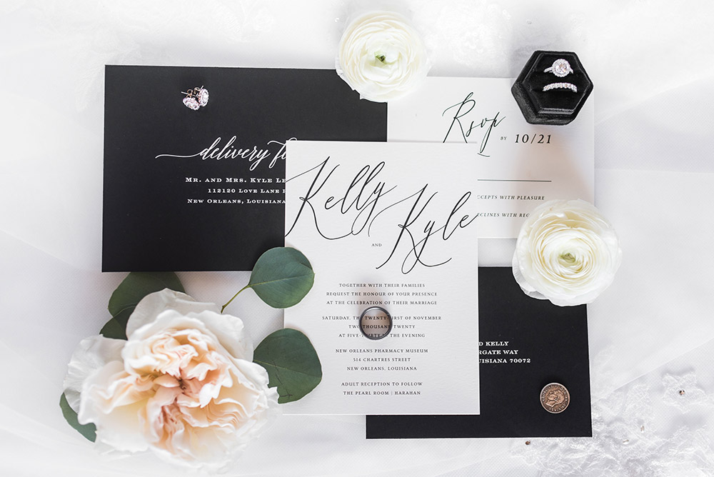 Kelly and Kyle's invitations by Minted
