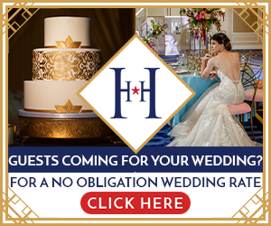Guests coming for your wedding? For a no obligation wedding rate, click here