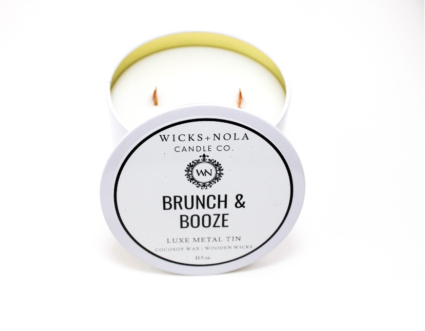 Wicks Nola Brunch & Booze Candle Wicks Nola Beaucoup Fragrance Wax Melts | Photo: Felicia T. Simpson