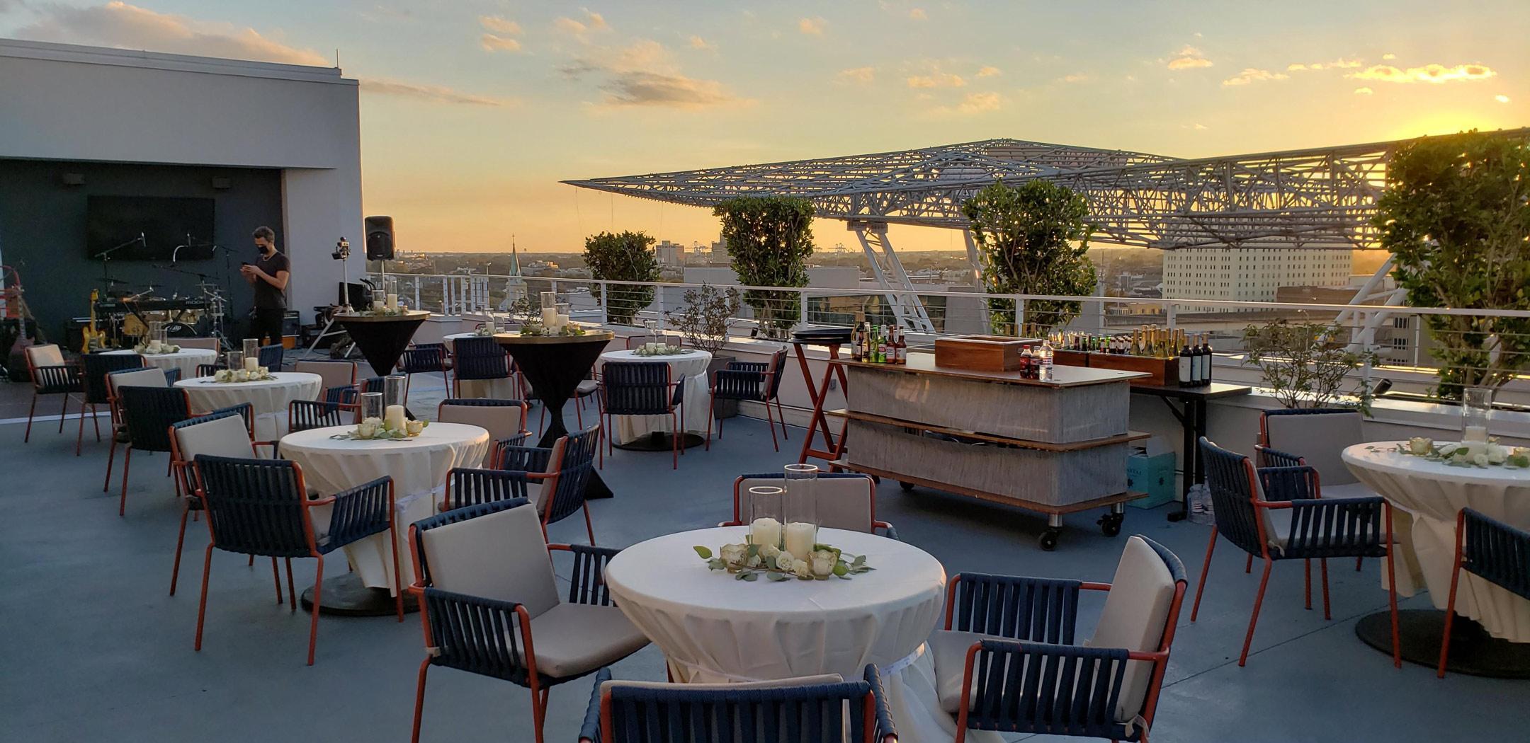Rosie's on the Rooftop | HIggins Hotel NOLA