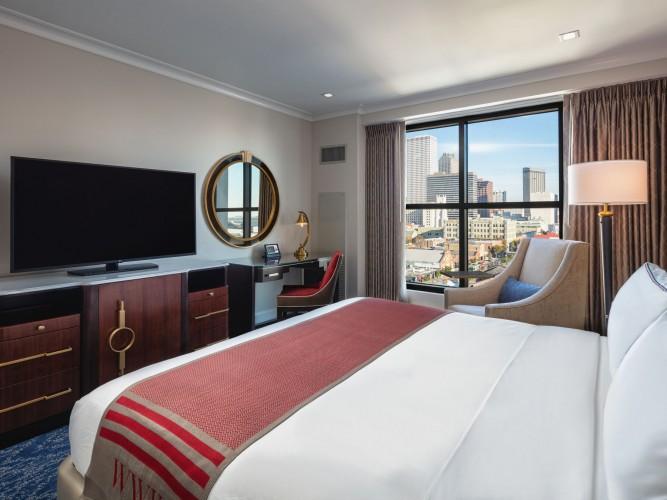 Higgins Hotel Guest Room