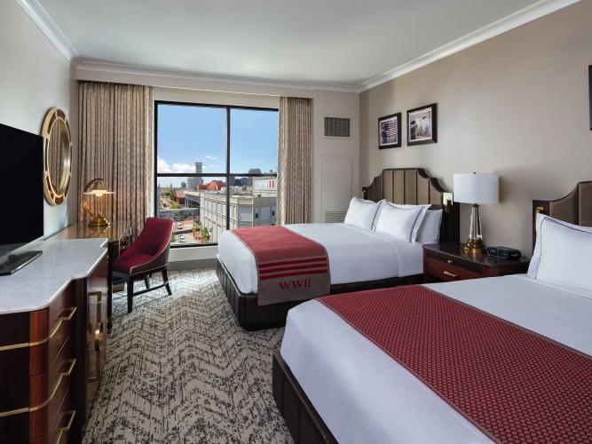 Queen Guest Room | Higgins Hotel NOLA | Photo: Jessica Burke, Jessica The Photographer