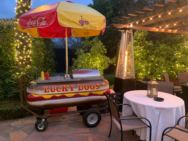 Lucky Dogs Catering Cart
