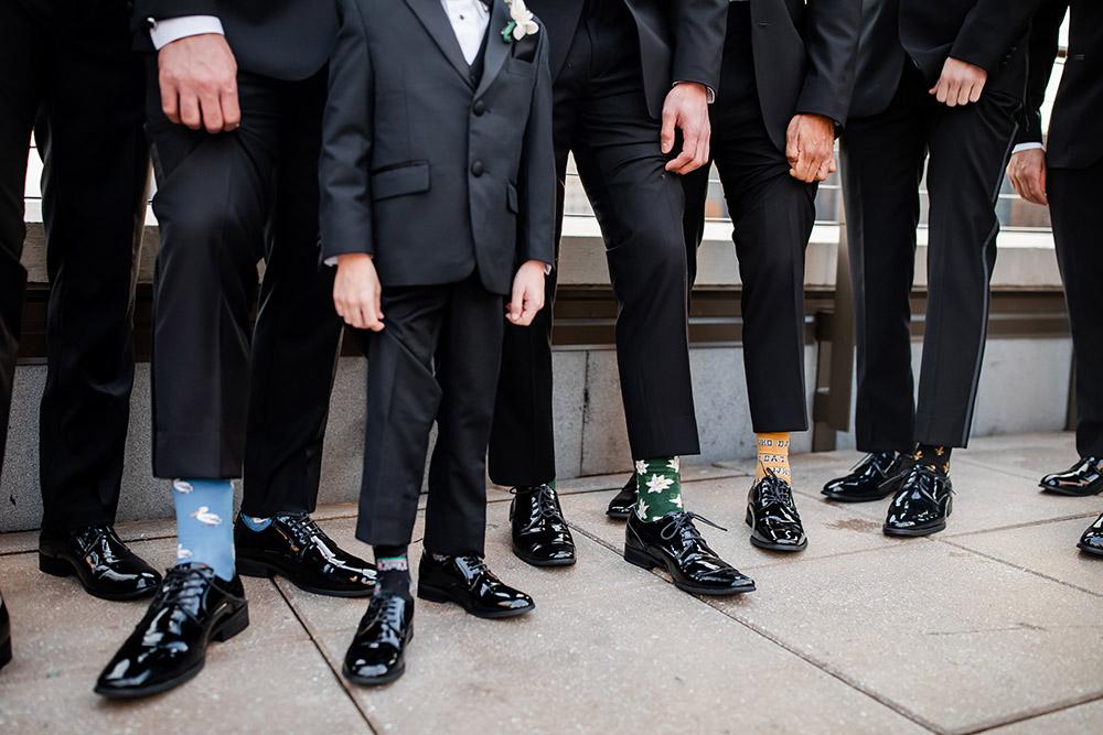 groomsmen Bonfolk socks