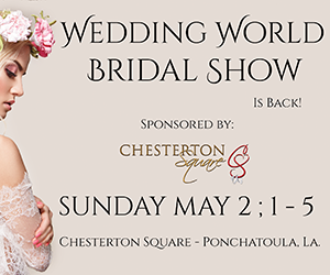 Wedding World Bridal Show May 2, 2021 at Chesterton Square