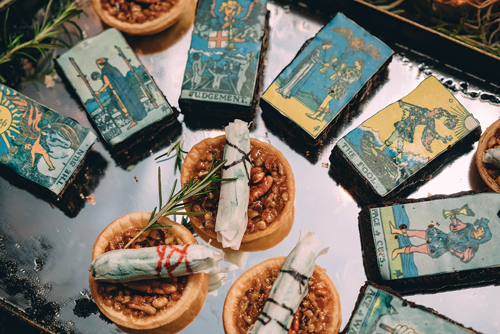 Wedding Brownies And Mini Pecan Pies