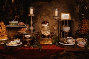 Savory cheese wedding cake, wedding cake alternative