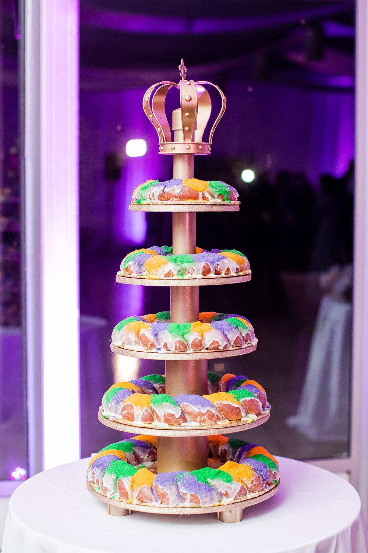 Wedding King Cake by Haydel's Bakery