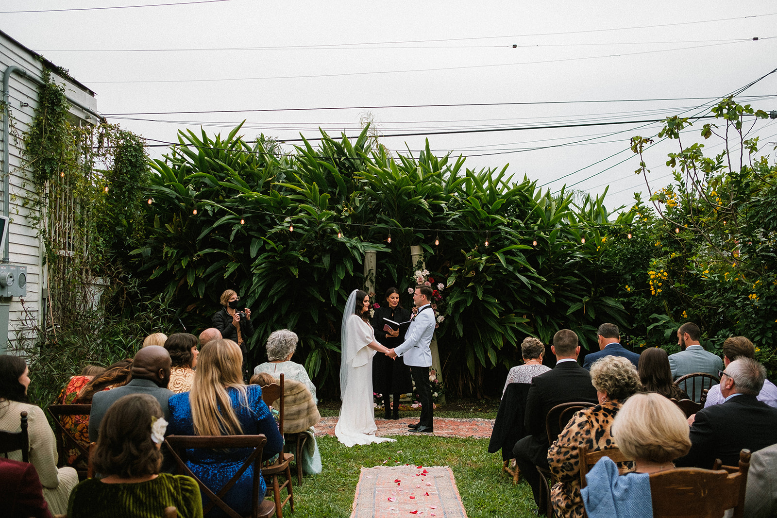 Intimate wedding officiated by Let's Elope New Orleans