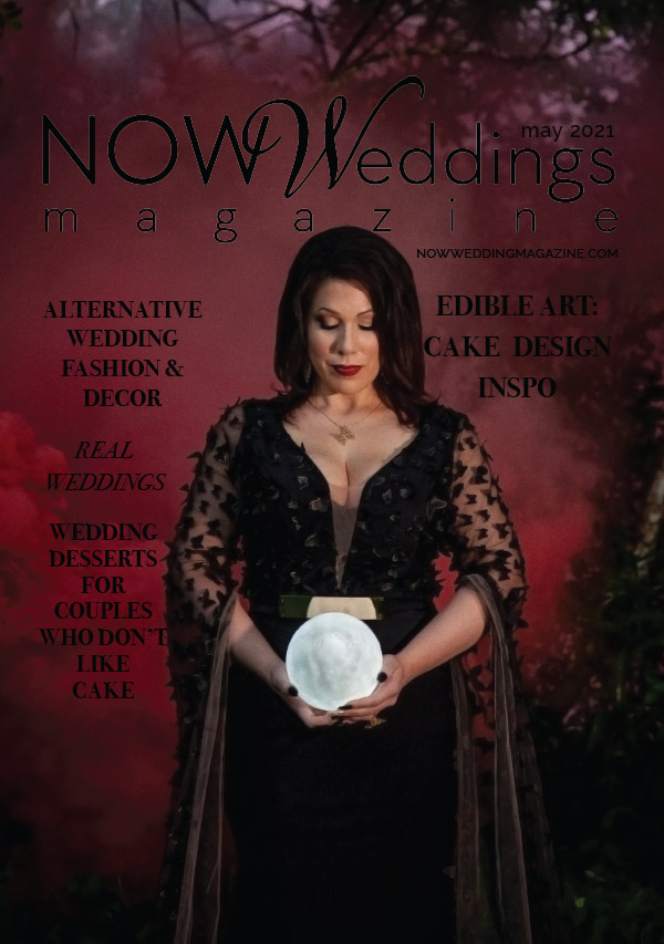 NOW Weddings Magazine May 2021 Cover