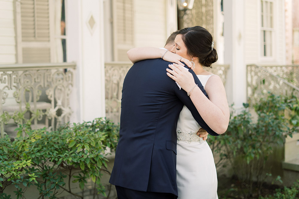 Shelby and Brody embrace