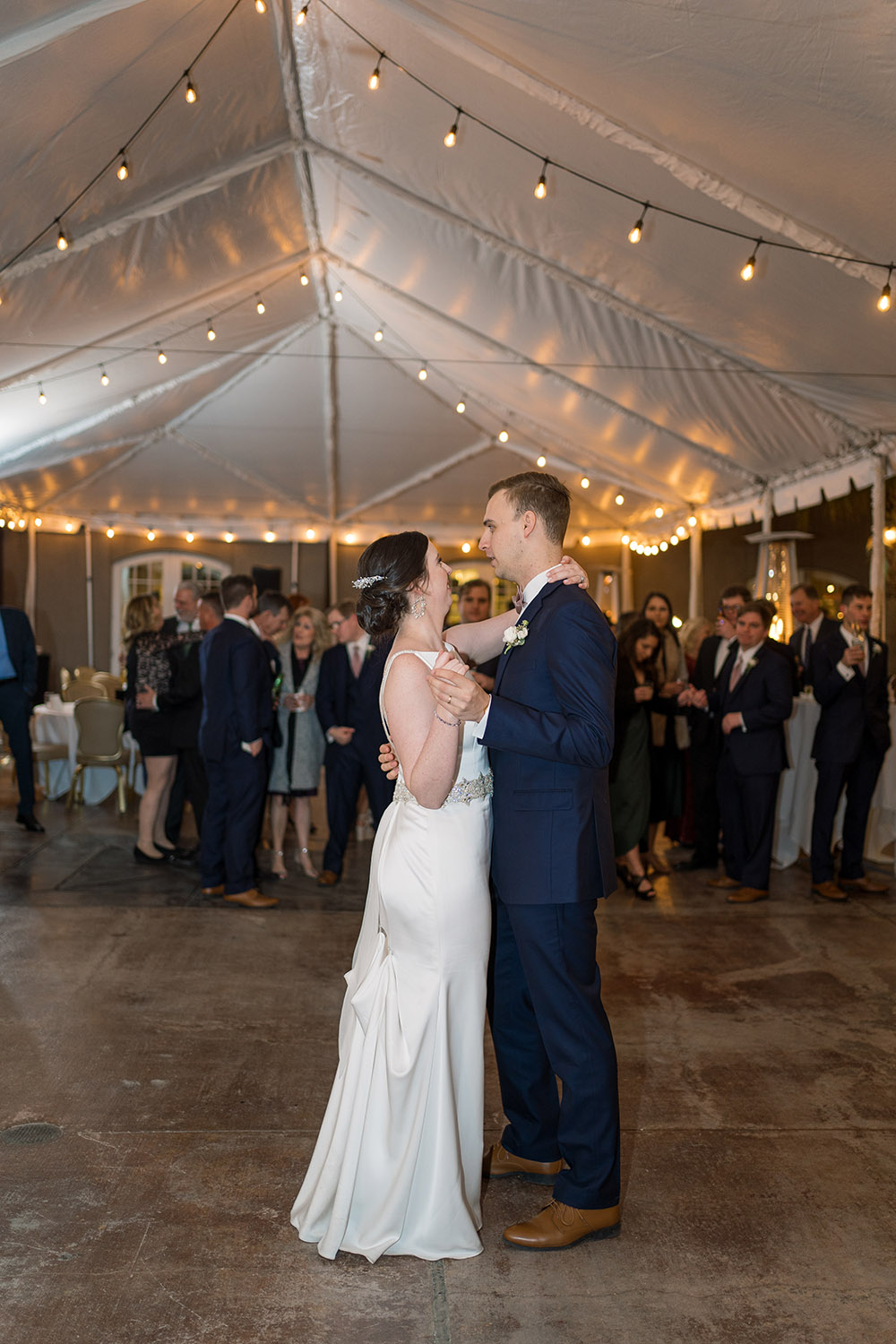"""Shelby and Brody's first dance to Elvis Presley's """"Can't Help Falling in Love."""""""