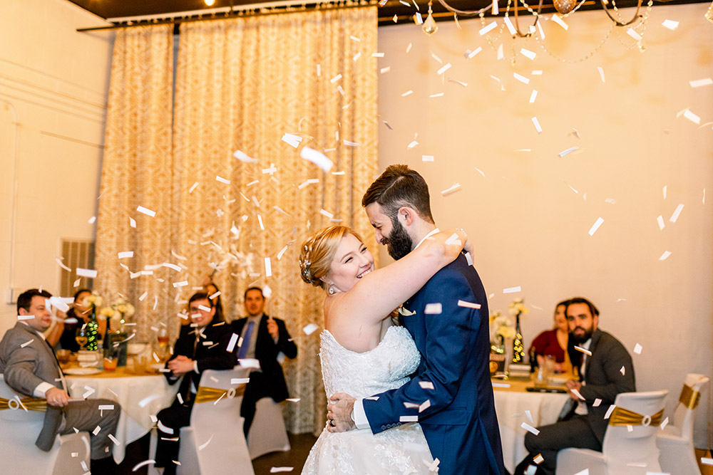 Gracie and Ross' first dance.