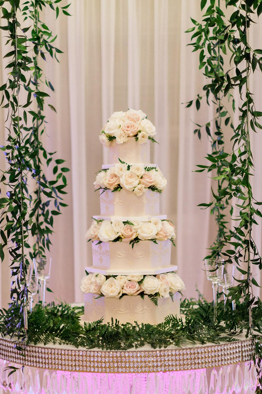 Hexagon Wedding Cake By Kimbla's Cakes