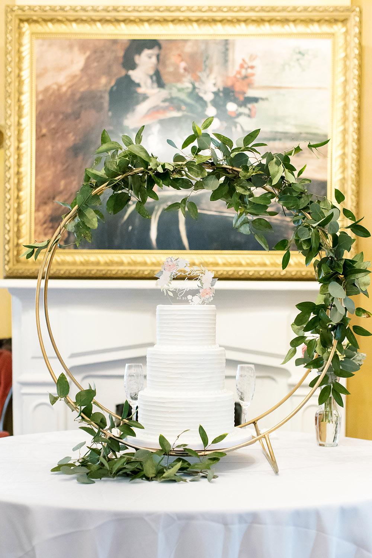 The wedding cake by Kimbla's Cakes