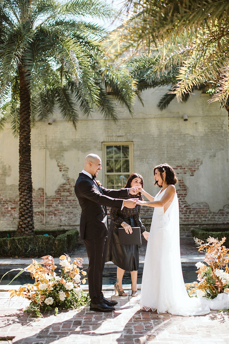 Elopement at Race and Religious in New Orleans