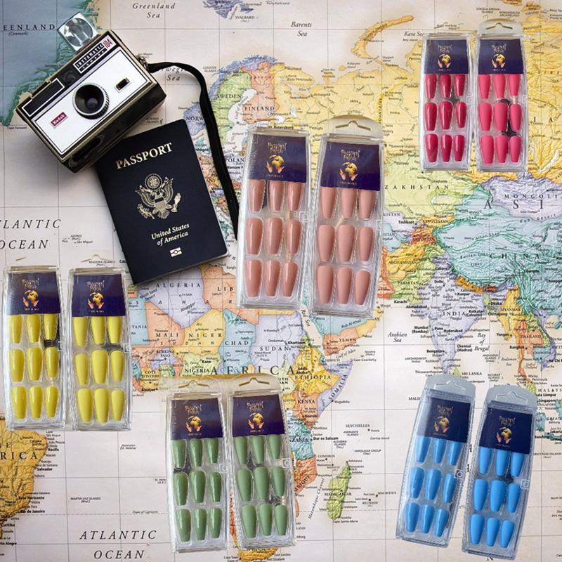 Passport ready made press ons