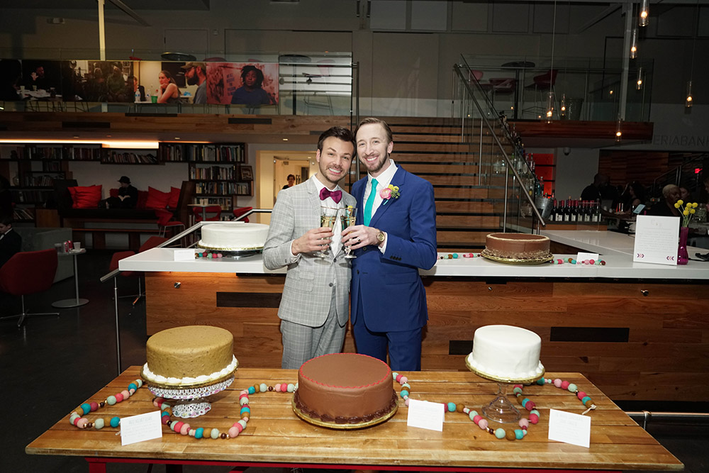 the wedding doberge cakes
